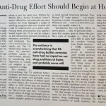 US Anti-Drug Effort Should Begin at Home [Christian Science Monitor, February 25, 1993]