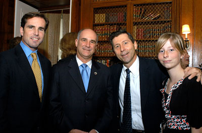 Bob Woodruff and 2007 Nancy Dickerson Whitehead Awards Recipients