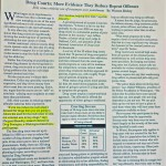 Drug Courts: More Evidence They Reduce Repeat Offenses [Christian Science Monitor, May 19, 1997]