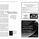 Sex Differences Do Matter in Adolescent Treatment [Counselor, April 2004]