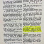 New court offers other approach to drug cases [South Bend Tribune, July 28, 1997]