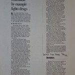 Education by example fights drugs [Detroit Free Press, September 21, 1993]