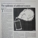 The Epidemic of Addicted Women [The Philadelphia Inquirer, March 1, 1999]