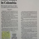 US drug list faults leader in Colombia [Boston Globe, February 27, 1996]