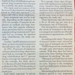 Substance Abuse Treatment is Limited, Study Reveals [National Underwriter, October 7, 1996]