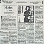 Mathea Falco: Finding the Right Road to a Drug-Free America [LA Times, February 14, 1993]
