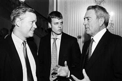 michael dickerson, david earls, dan rather