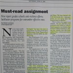 Must read assignment [The Oregonian, June 27, 1997]