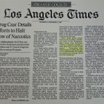 Drug Czar Details Efforts to Halt Flow of Narcotics [LA Times, December 4, 1997]