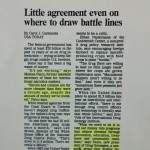 Little agreement even on where to draw battle lines [USA Today, February 8, 1995]