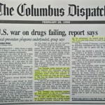 U.S. war on drugs failing, report says [The Columbus Dispatch, February 26, 1996]