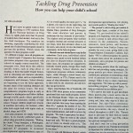 Tackling Drug Prevention: How you can help your child's school [Good House Keeping, October 1996]