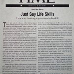 Just Say Life Skills [Time, November 11, 1996]