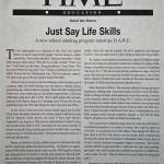 Just Say Life Skills [Time, November 11, 1996]