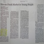 Heroin Finds Market in Young People [Christian Science Monitor, March 23, 1998]