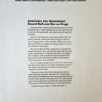 Americans Say Government Should Refocus War on Drugs [Inside Report on AIDS, April 1, 1994]