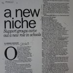 A New Niche [Desert Sun, February 6, 1995]
