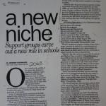 A New Niche [Desert Sun, February 6, 1995]