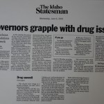 Governors grapple with drug issue [Idaho Statesman, June 6, 2001]